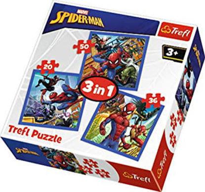 Image de TREFL Puzzle 3 en 1 spiderman 34841