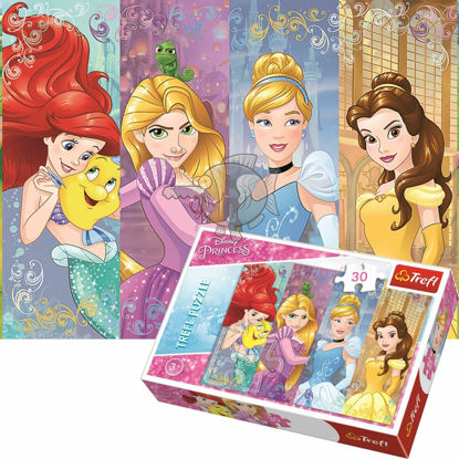 Image de Trefl Puzzle Princesses Disney  18205 30 pièces