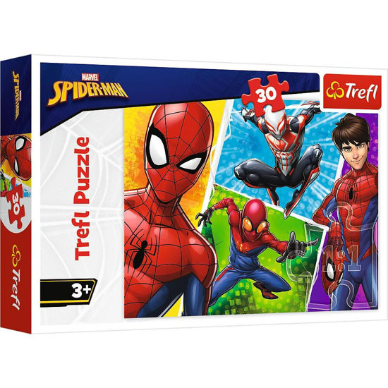 Image de Trefl Marvel Spider Man Puzzle for Kids - 30 Pieces 18242