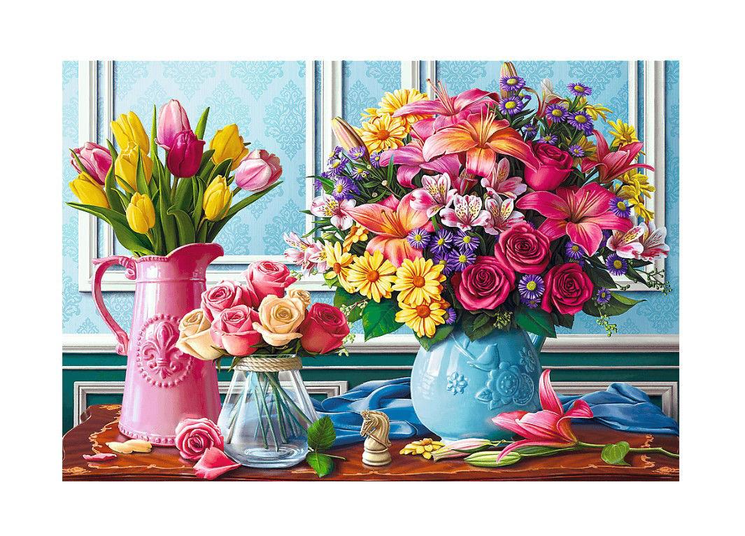 Image de TREFL PUZZLE  1500 FLEURS 26157