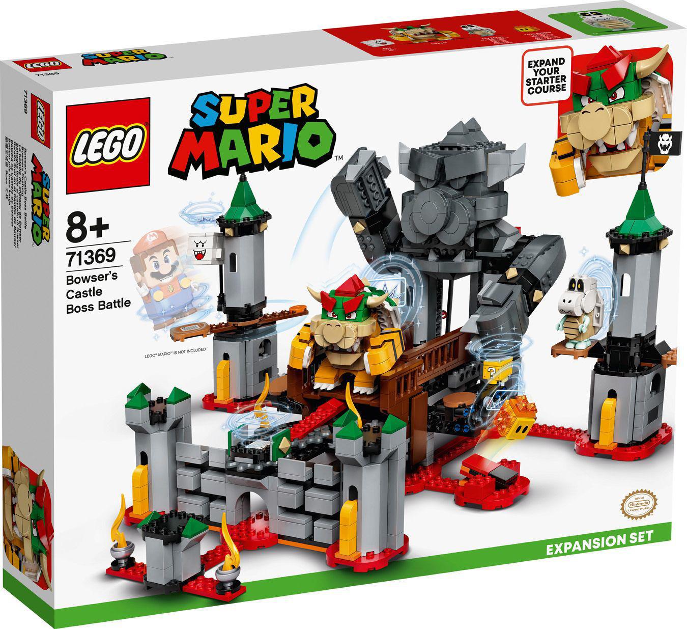 Image de LEGO Super Mario Ensemble d'Extension La bataille du château de Bowser 71369
