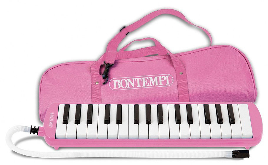 Image de PIANO A BOUCHE 32 TOUCHES ROSE 333271