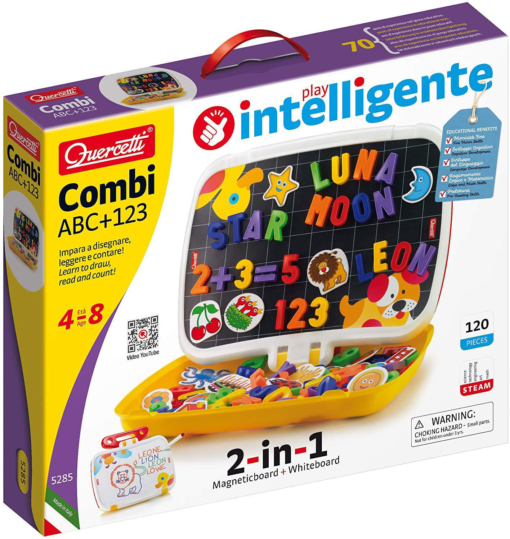 Image de QUERCETTI  Combi ABC / 123 Tablet Magnétique lettres et chiffres 5285