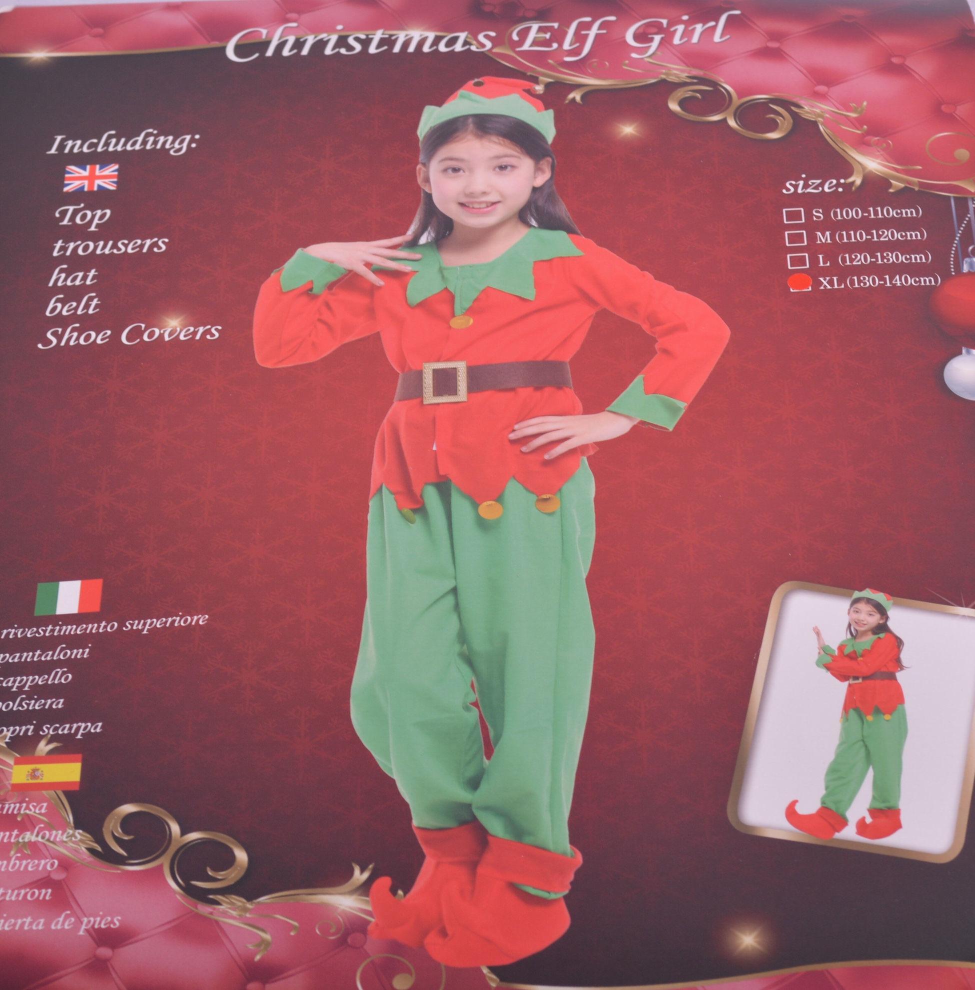 Image de déguisement noël ELF  GIRL