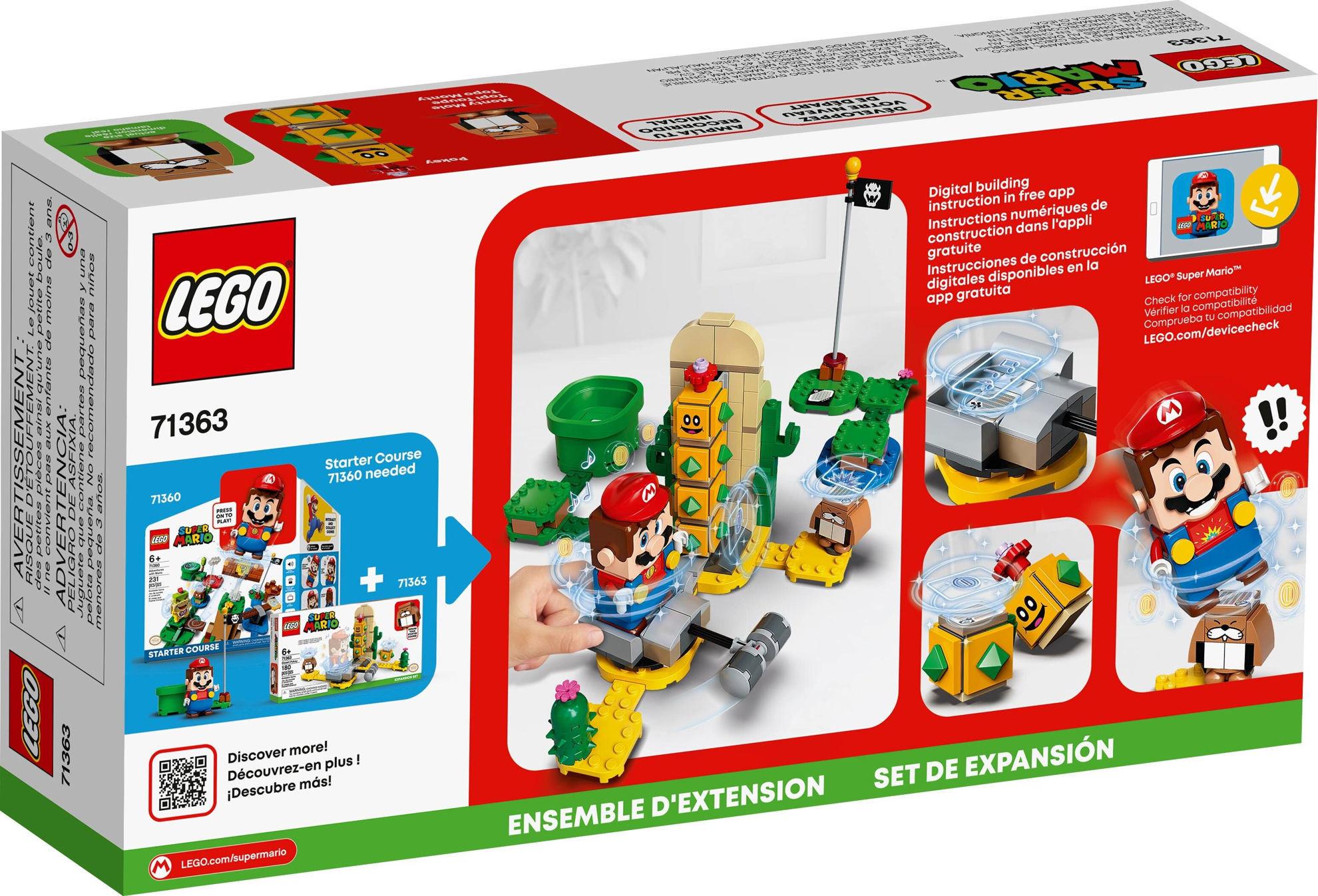 Image de LEGO Super Mario Désert de Pokey71363