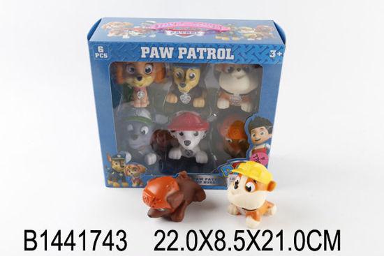 Image de Soft plastic dog 6 pcs b1441743