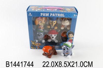 Image de Plastic Dog Paw patrol 6 pcs B1441744