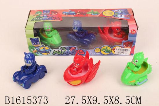 Image de 3 Pieces friction car PJ Mask 1615373