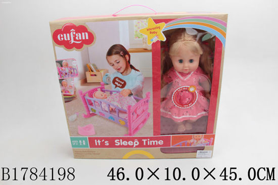 Image de BABY BED & DOLL W/IC