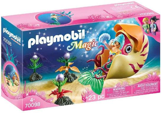 Image de PLAYMOBIL sirene avec escargot des mers