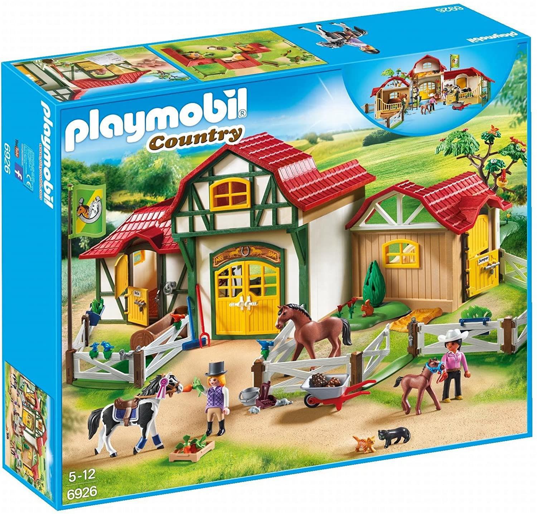 Image de Playmobil Club d'équitation 6926