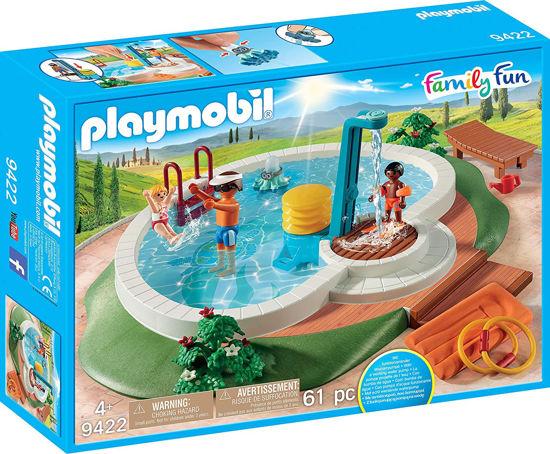 Image de PLAYMOBIL piscine avec douche