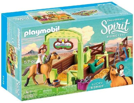 Image de PLAYMOBIL lucky et spirit avec box