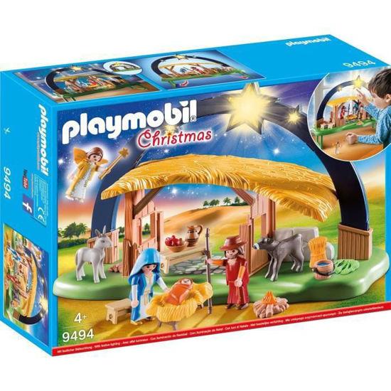Image de PLAYMOBIL creche avec illumination