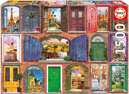 Image de Puzzle Educa 1500 Portes De L'Europe 17118
