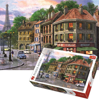 Image de Trefl Puzzle Streets of Paris 6000Pieces 65001