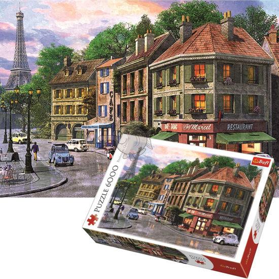 Image de Trefl Puzzle Streets of Paris 6000Pieces 65001