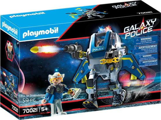 Image de Playmobil Robot et policier de l'espace 70021
