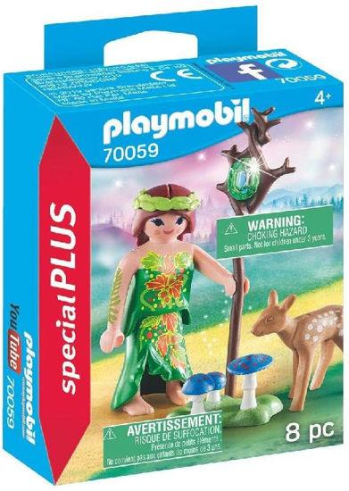 Image de Playmobil Nymphe et Faon 70059