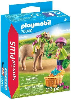 Image de Playmobil Cavalière avec Poney 70060