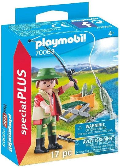 Image de Playmobil Pêcheur à la Ligne 70063