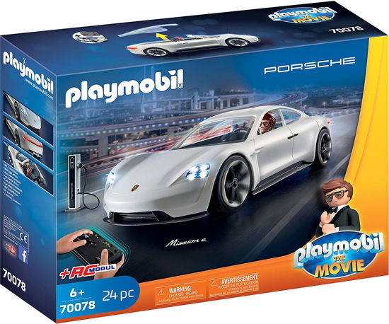 Image de Playmobil The Movie Rex Dasher Porsche Mission E 70078
