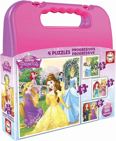 Image de EDUCA puzzle prog 'princesses' 16508