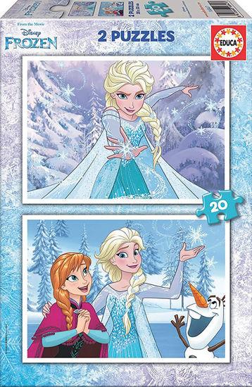Image de EDUCA puzzle 2*20 frozen 16847