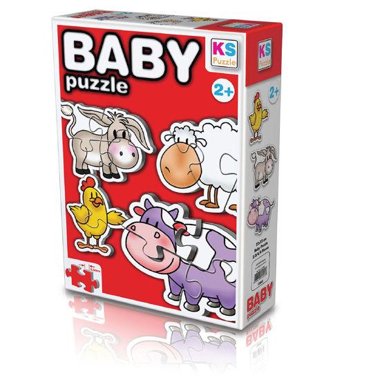 Image de Puzzle  Enfant La Ferme 12002