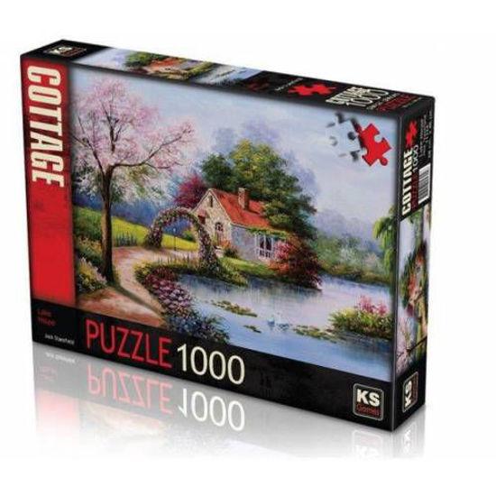Image de PUZZLE 1000 Pièces Lake House KS