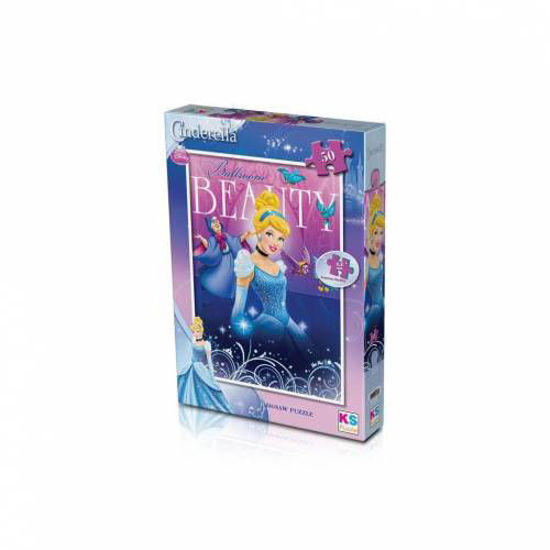 Image de Puzzle 50 pièces Cinderella CRL 709 KS