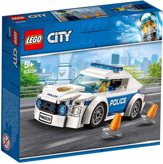 Image de LEGO City La voiture de patrouille de la police 60239