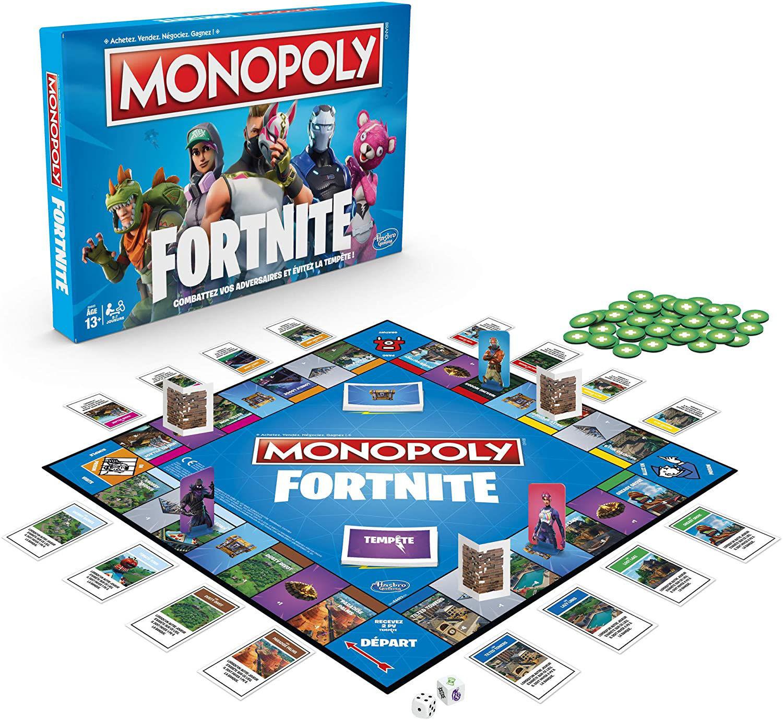 Image de HASBRO monopoly fortnite E6603/101