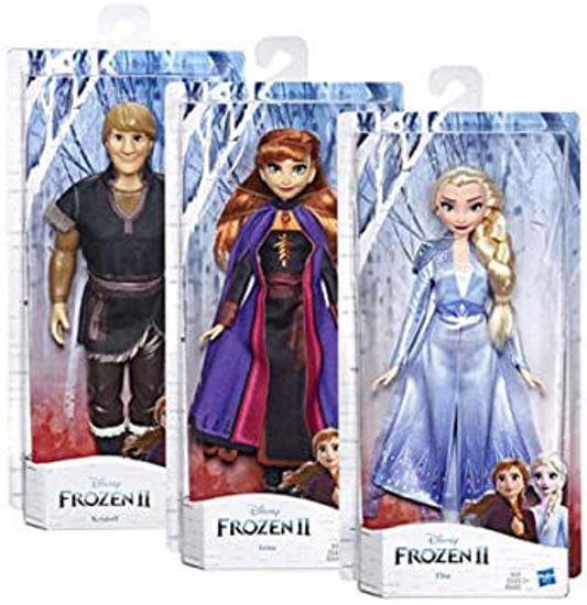 Image de HASBRO frozen 2 doll character asst E5514