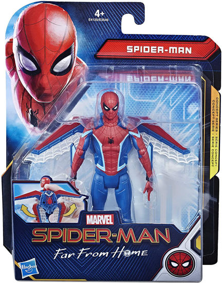 Image de HASBRO figurine spider-man asst E3549