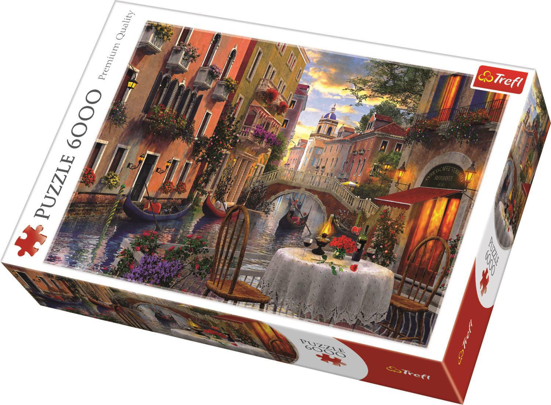 Image de Puzzle Trefl 6000 Venise romantique 65003
