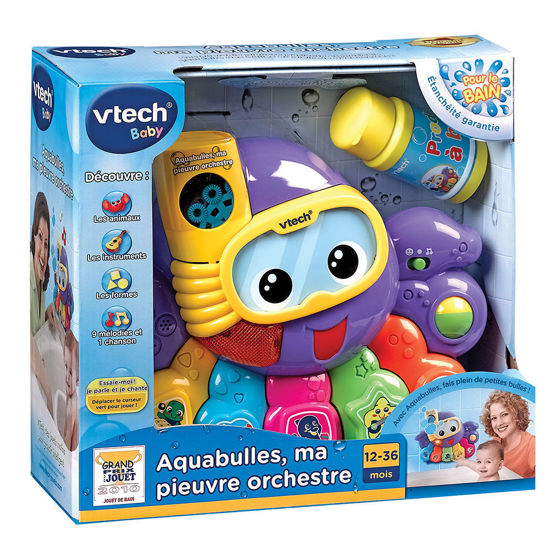 Image de VTECH Aquabulles, ma pieuvre orchestre