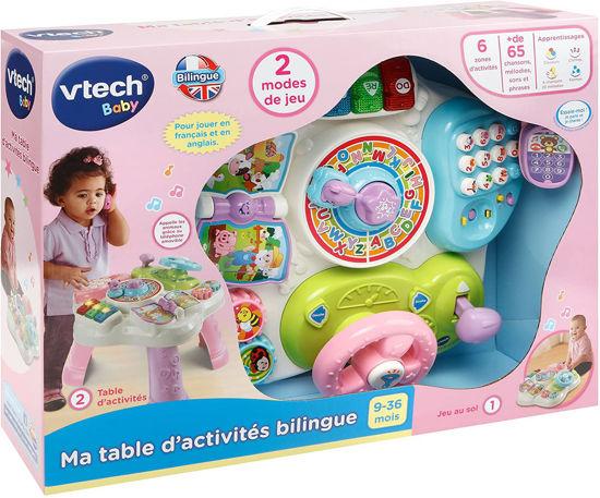 Image de VTech - 181565 - Ma Table d'Activité Bilingue - Rose