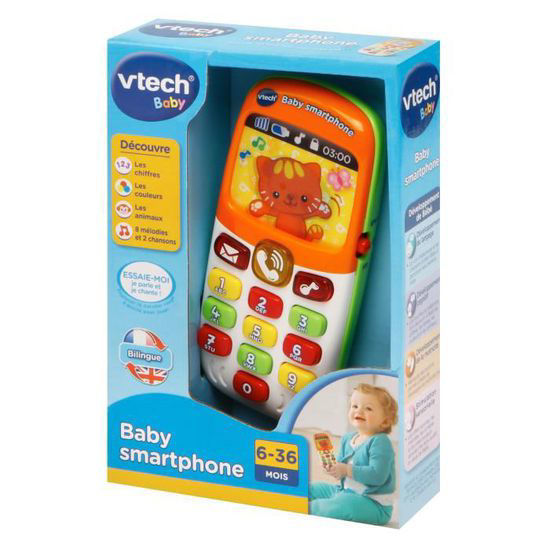 Image de VTECH baby smartphone bilingue