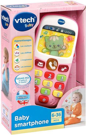 Image de VTECH baby smartphone bilingue rose