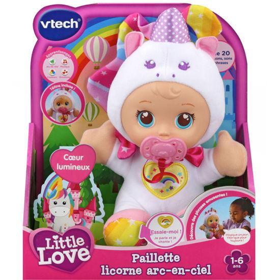Image de VTECH LITTLE LOVE PAILLETTE LICORNE ARC EN CIEL