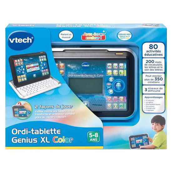 Image de VTECH genius XL color tablette noire