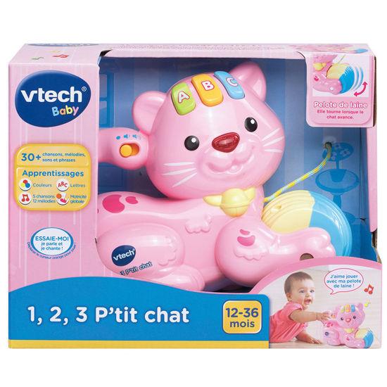 Image de VTECH 1,2,3 p'tit chat rose