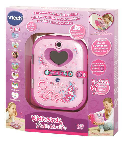 Image de VTECH kid secrets selfie music rose