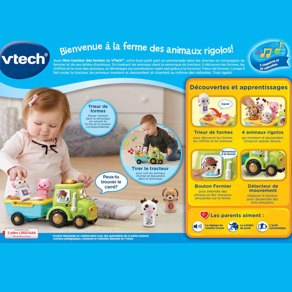 Image de VTECH MON TRACTEUR DES FORMES