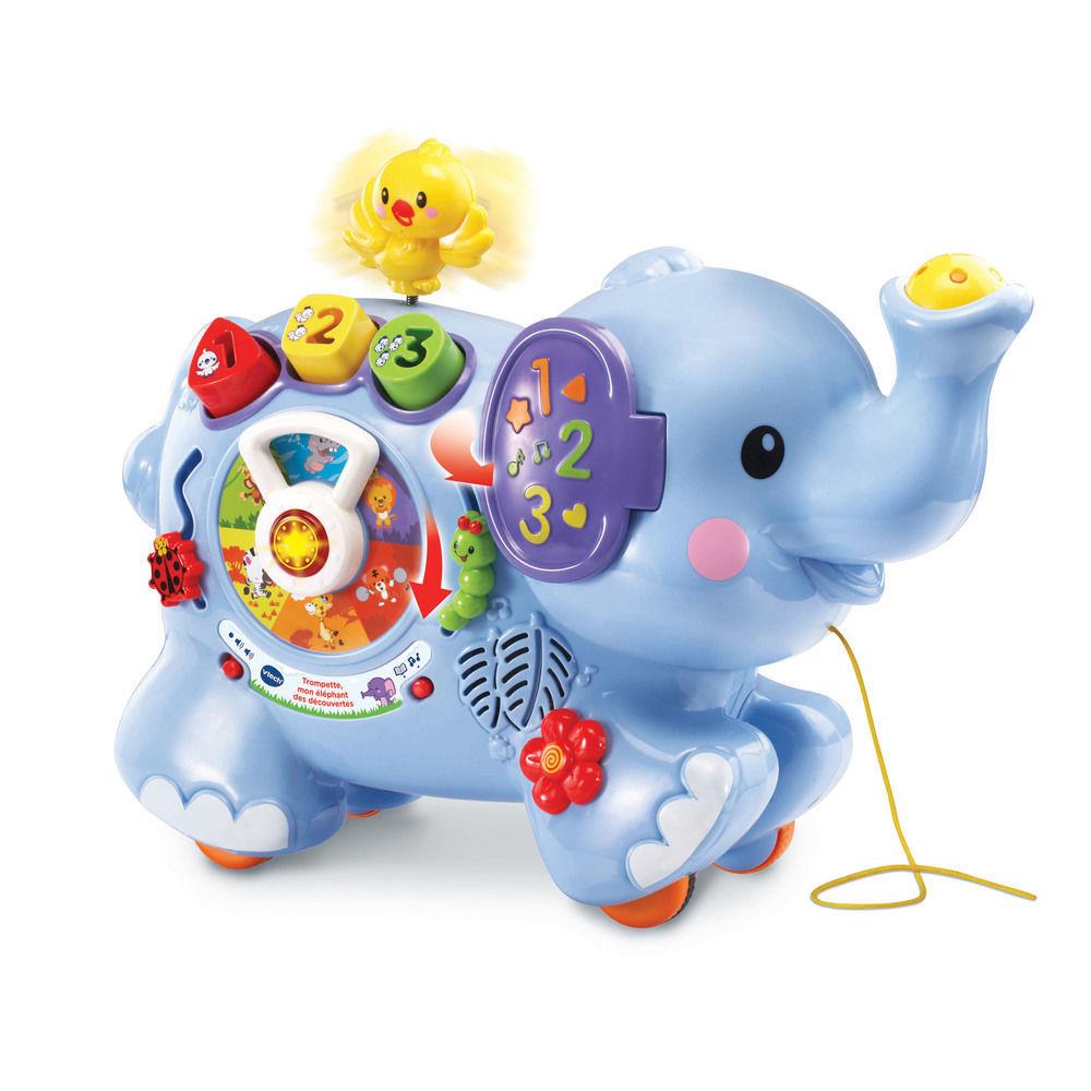 Image de VTECH Trompette, mon éléphant des découvertes