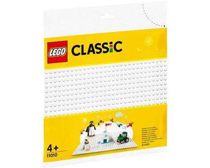 Image de LEGO Classic La plaque de base blanche 11010