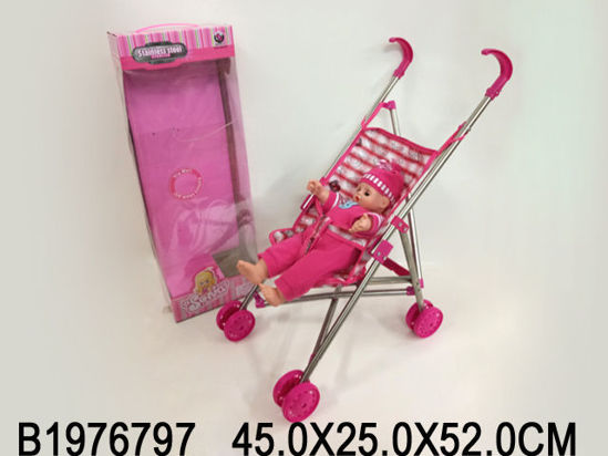 Image de Baby stroller with Doll 1976797