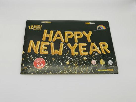 Image de GUIRLANDE HAPPY NEW YEAR GONFLABLE EN HELIUM