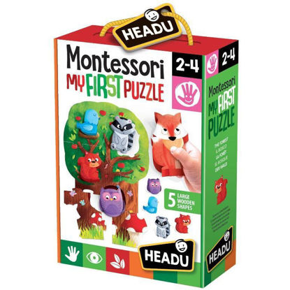 Image de FIRST PUZZLE THE FOREST MONTESSORI IT20133